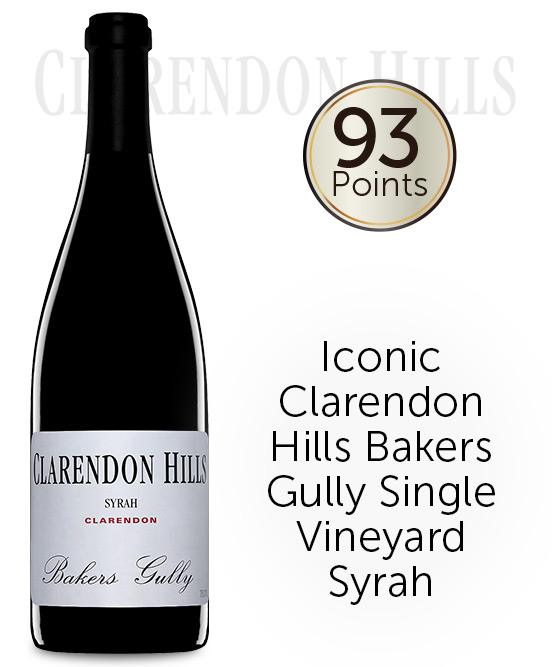 Clarendon Hills Bakers Gully Syrah 2012