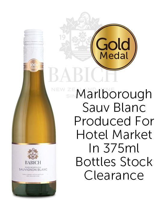 Babich Marlborough Sauvignon Blanc 2018 375ml Bottles