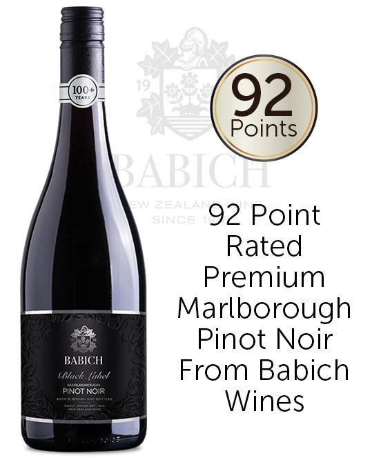 Babich Black Label Marlborough Pinot Noir 2019