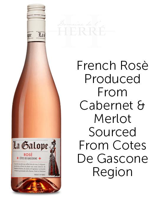 Domaine De L Herre La Galope Rose 2019