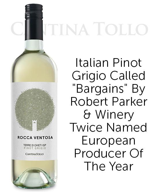 Cantina Tollo Rocca Ventosa Terre Di Chieti IGP Pinot Grigio 2020