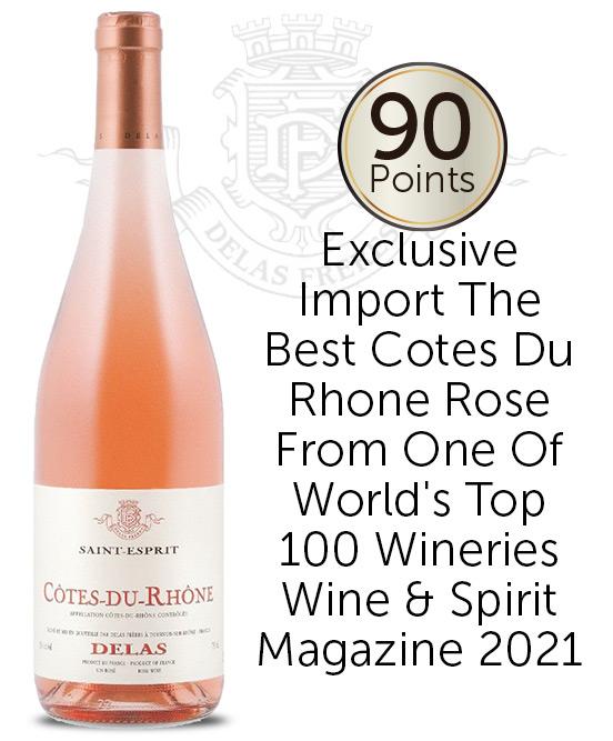 Delas Freres Cotes Du Rhone Rose 2020