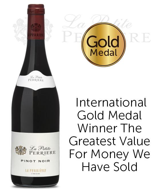 La Petite Perrier Loire Valley Pinot Noir 2020