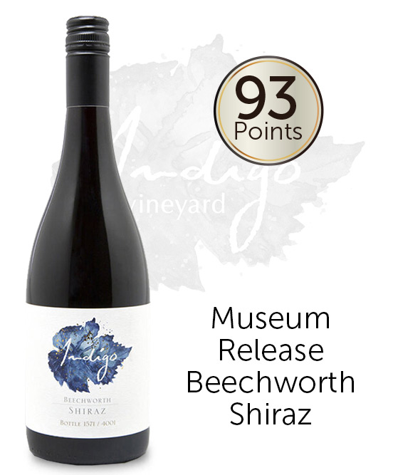 Indigo Vineyard Blue Label Beechworth Shiraz 2016
