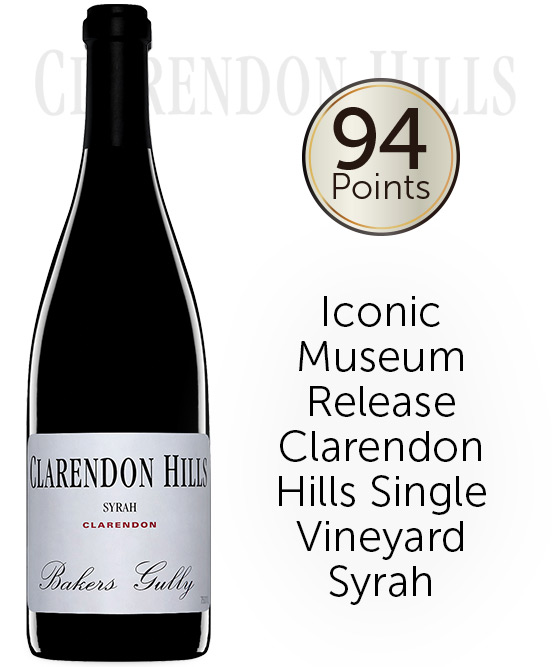 Clarendon Hills Bakers Gully Syrah 2010