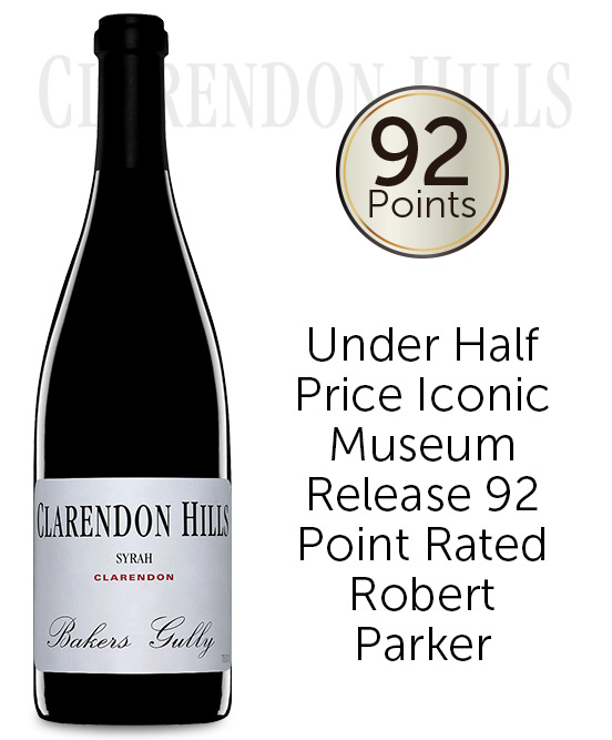 Clarendon Hills Bakers Gully Syrah 2005