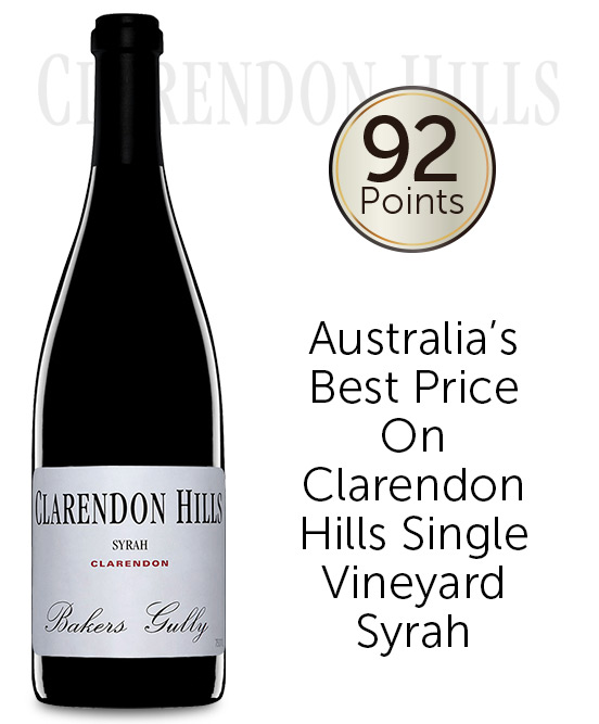 Clarendon Hills Bakers Gully Syrah 2008
