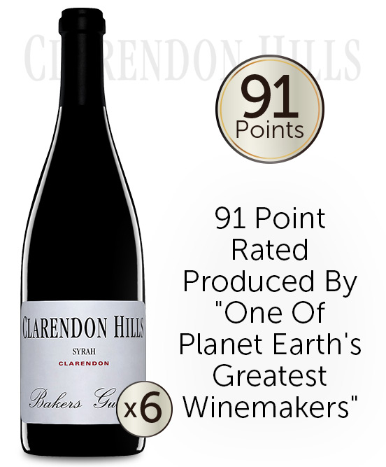 Clarendon Hills Bakers Gully Syrah 2009 6pack