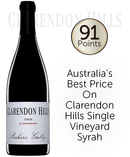 Clarendon Hills Bakers Gully Syrah 2009
