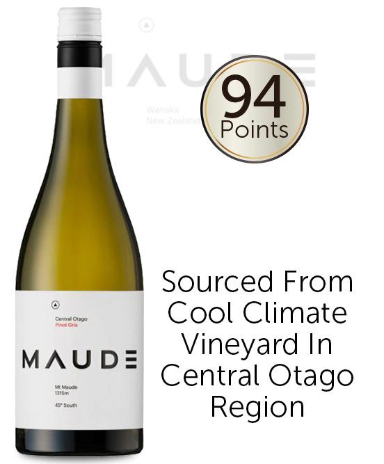 Maude Central Otago Pinot Gris 2019