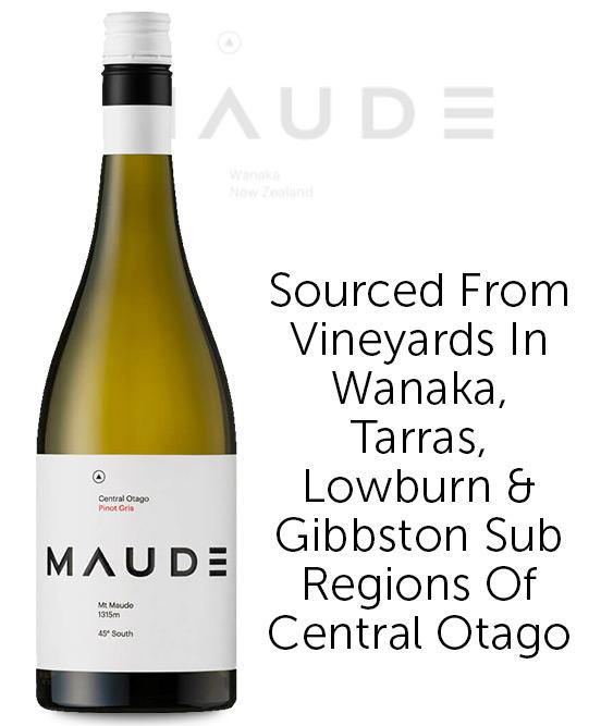 Maude Central Otago Pinot Gris 2020