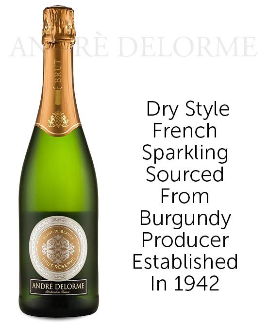 Domaine Andre Delorme Blanc de Blanc Sparkling Nv