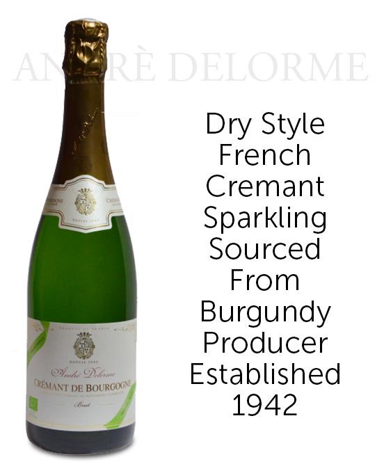 Domaine Andre Delorme Cremant Bourgogne Brut Nv