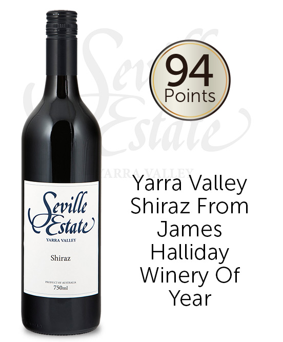 Seville Estate Range Yarra Valley Shiraz 2017