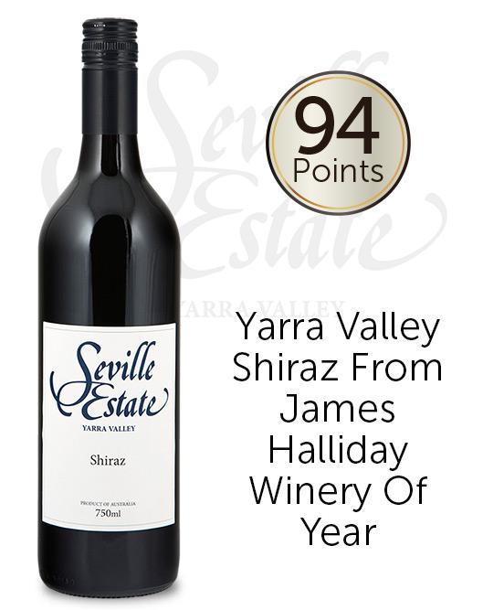 Seville Estate Range Yarra Valley Shiraz 2017