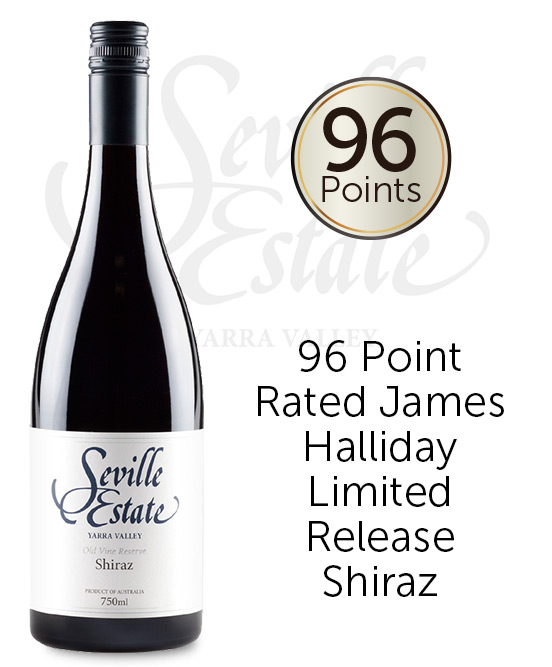 Seville Estate Reserve Yarra Valley Old Vine Shiraz 2017
