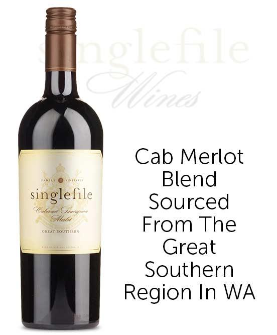 Singlefile Wines Great Southern Cabernet Sauvignon Merlot 2019