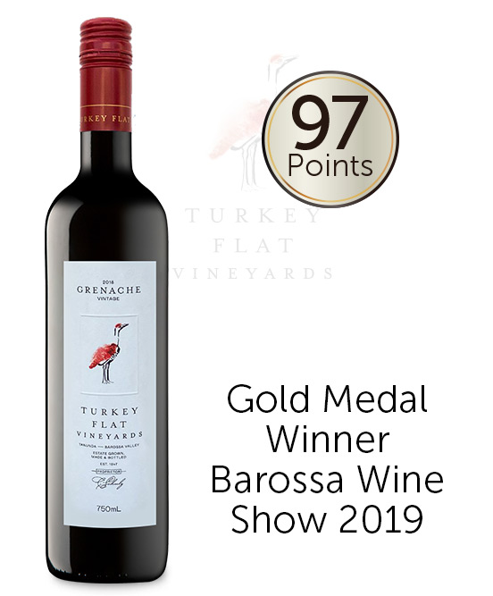 Turkey Flat Barossa Valley Grenache 2018