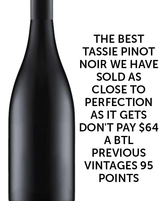 Icon Tasmanian Pinot Noir 2016 Cleanskin