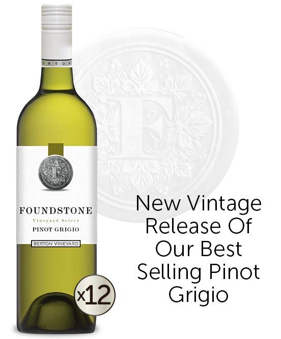 Berton Vineyards Foundstone Pinot Grigio 2021 Dozen