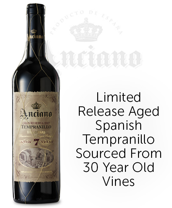 Anciano Gran Reserva Tempranillo Aged 7 Years 2010