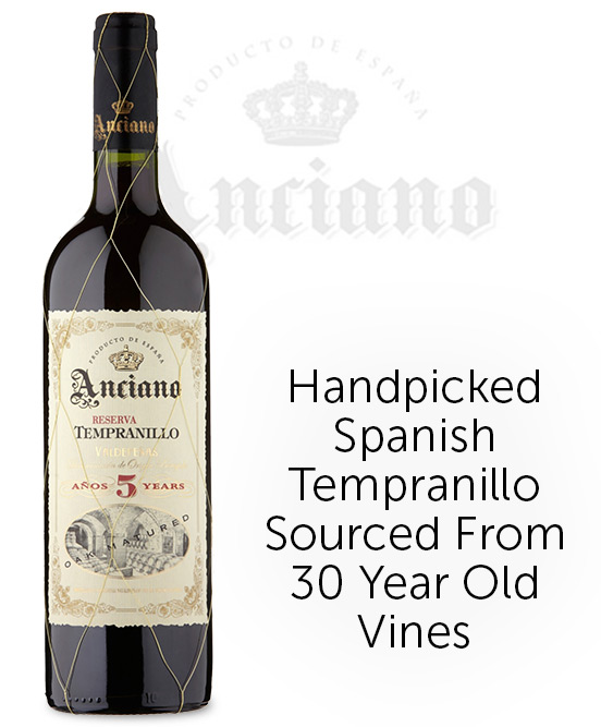 Anciano Reserva Tempranillo Aged 5 Years 2013