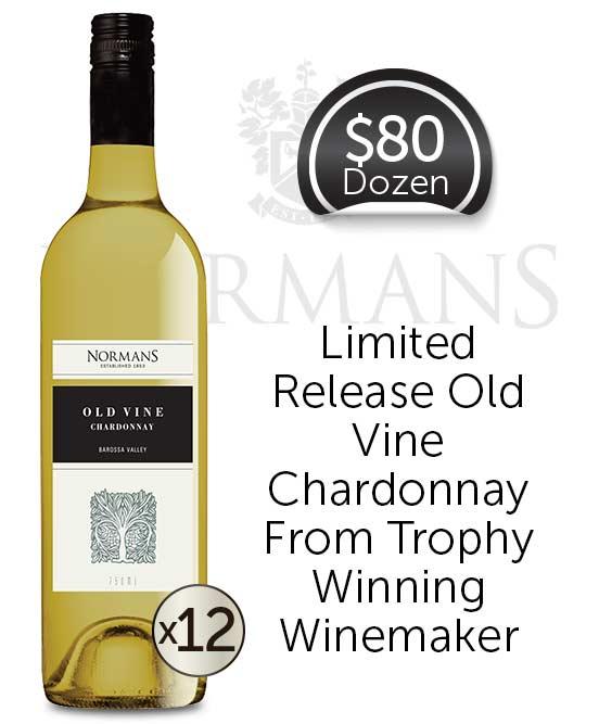 Normans Old Vine Barossa Valley Chardonnay Dozen