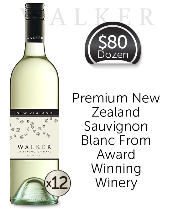 Walker New Zealand Sauvignon Blanc 2018 Dozen