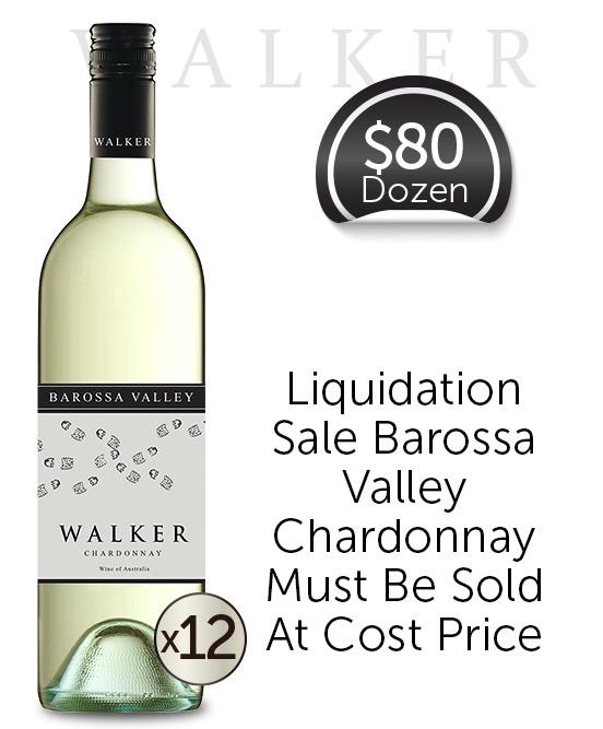 Walker Barossa Valley Chardonnay Dozen
