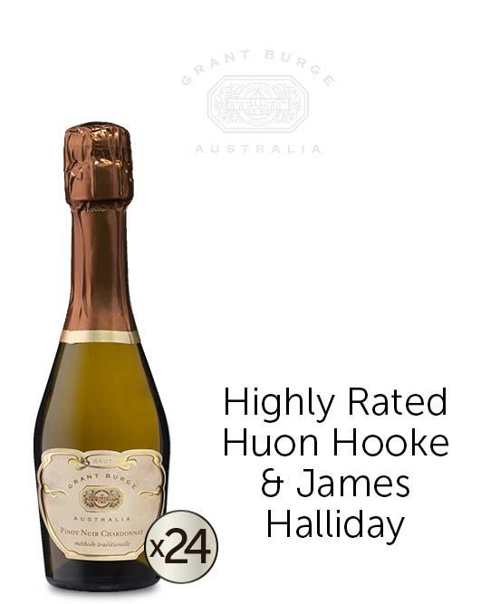 Grant Burge Pinot Noir Chardonnay Brut Nv Piccolos 24x200ml