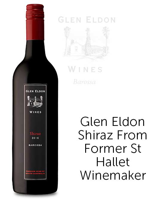 Glen Eldon Barossa Valley Shiraz 2016