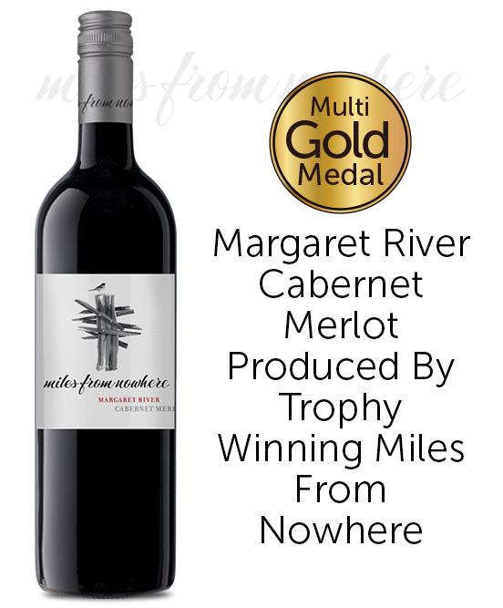 Miles from Nowhere Margaret River Cabernet Merlot 2019