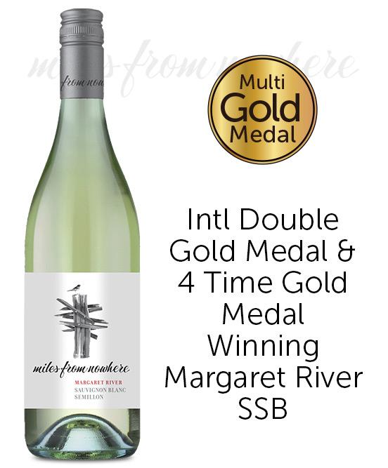Miles from Nowhere Margaret River Sauvignon Blanc Semillon 2020