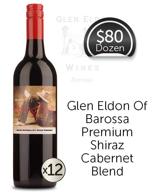 Glen Eldon Kicking Back Shiraz Cabernet 2017 Dozen
