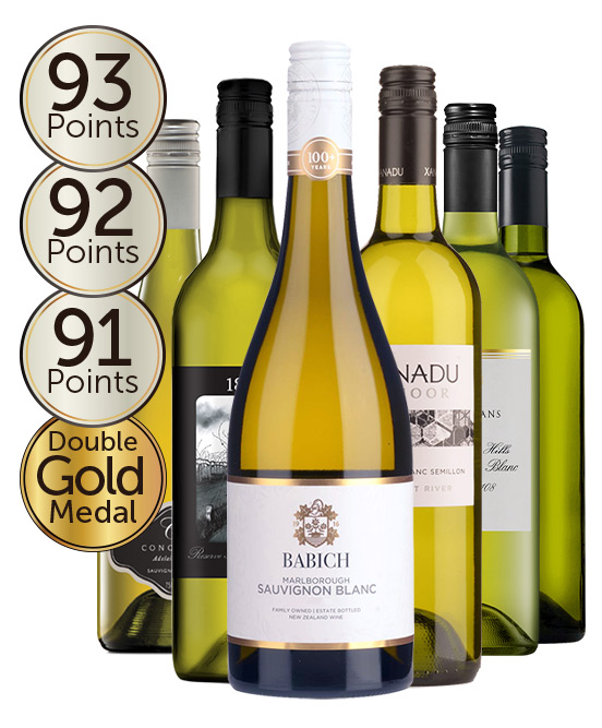 $120 Double Gold Medal Winning 93 Point Rated Sauvignon Blanc Mixed Dozen