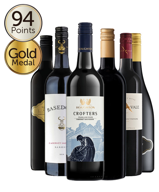 $150 Trophy & Multi Gold Medal Winning 94 Point Rated Cabernet Sauvignon Mixed Dozen