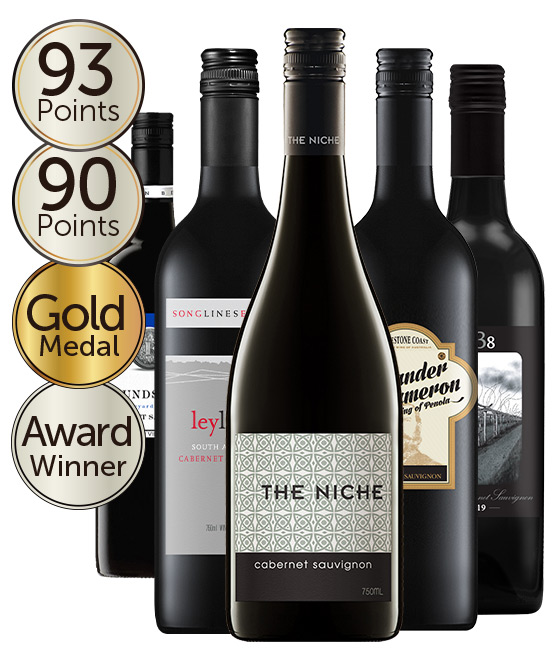 $80 Silver Medal Winning 92 Point Rated Cabernet Sauvignon Mixed Dozen