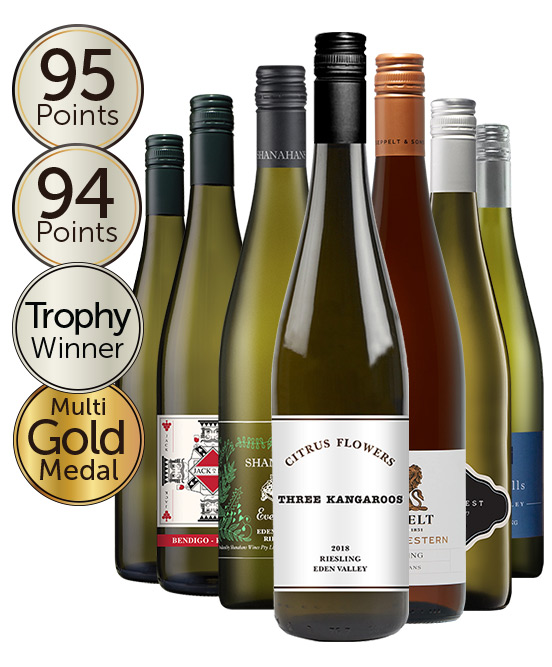 95 Point Halliday Rated Riesling Mixed Dozen