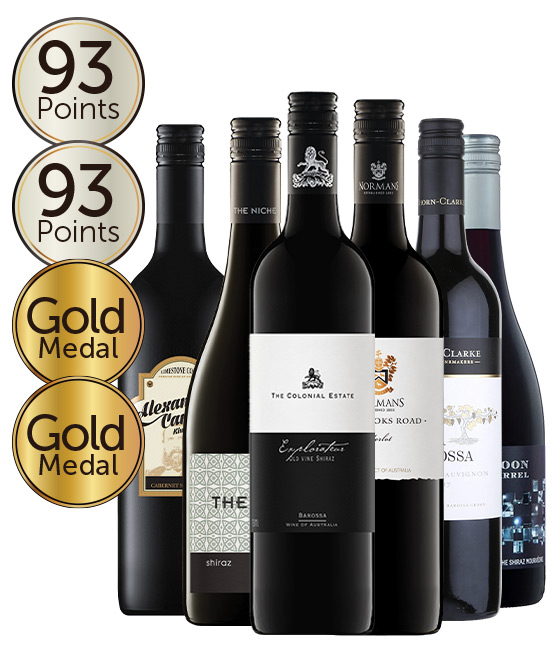 $99 Double Gold Medal Winning 92 Point Rated Red Mixed Dozen