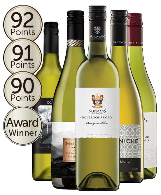 $99 Multi Gold Medal Winning 95 Point Rated Sauvignon Blanc Mixed Dozen