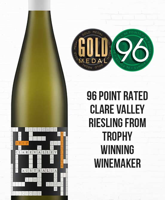Crosswords Clare Valley Riesling 2017