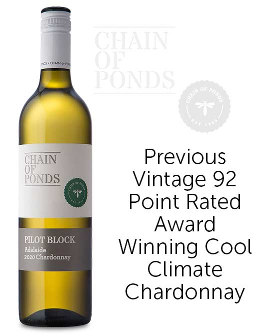 Chain Of Ponds Pilot Block Adelaide Chardonnay 2020