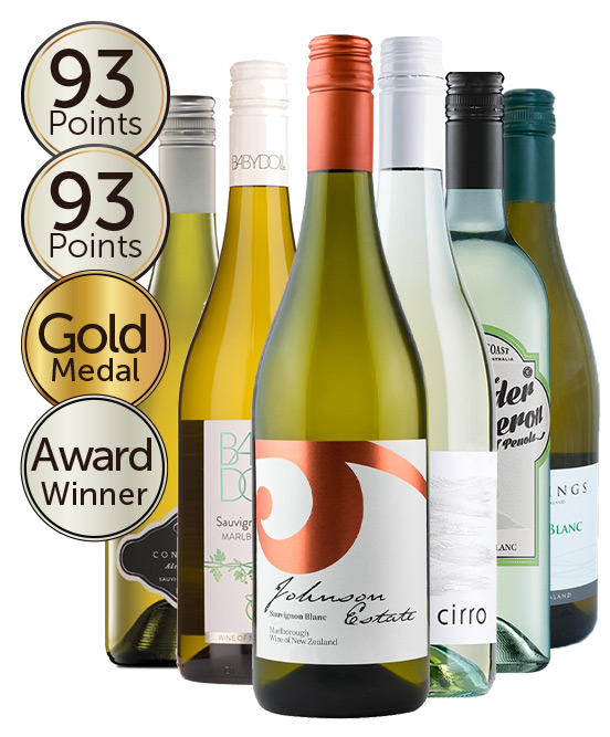 $150 Double Gold Medal Winning 94 Point Rated Sauvignon Blanc Mixed Dozen