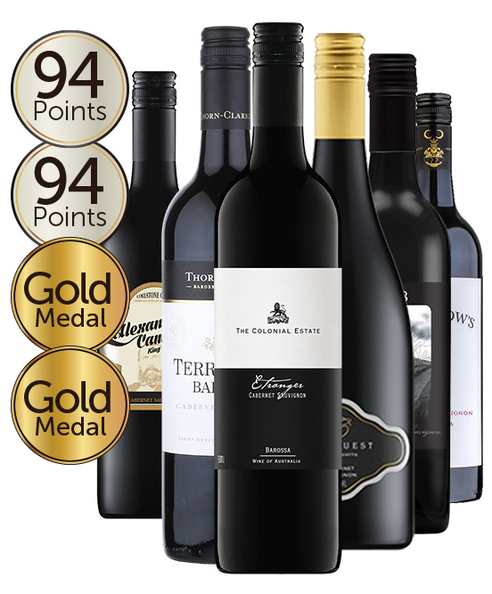 $99 Multi Gold Medal Winning 93 Point Cabernet Sauvignon Mixed Dozen