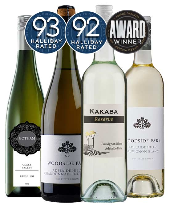 Halliday Rated White Wine Mixed Dozen