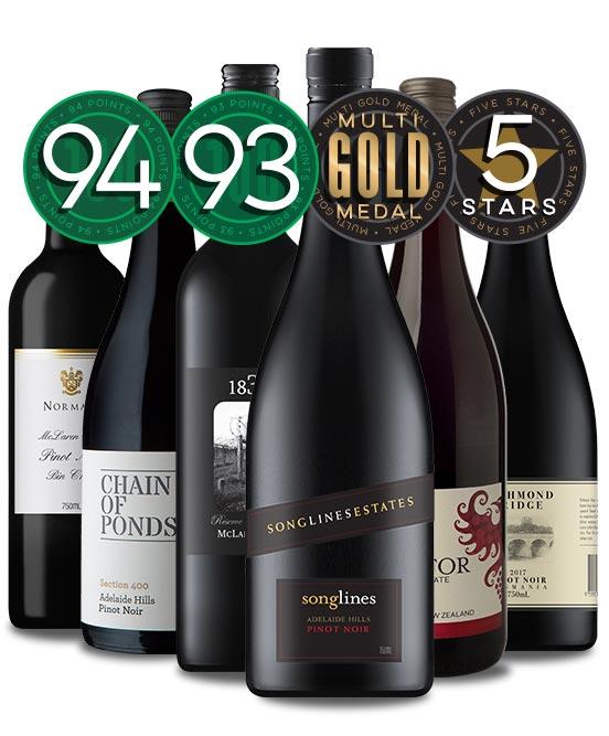 Super Premium Pinot Noir Mixed Dozen