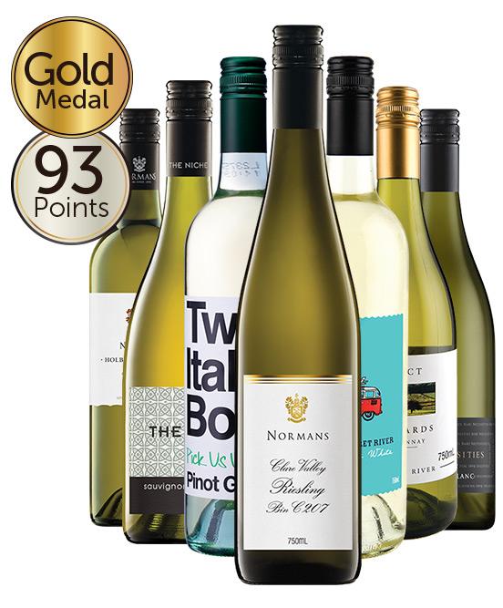 $80 White Wine Mixed Dozen