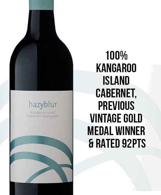Hazyblur Kangaroo Island Cabernet Sauvignon 2015