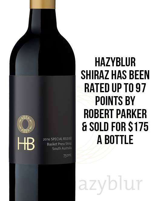 Hazyblur Special Release Basket Press Shiraz 2017