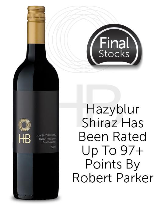 Hazyblur Special Release Basket Press Shiraz 2018